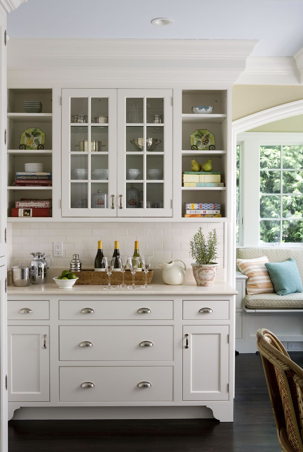 images of cabinets for kitchen this glass doors and open shelving look makes this 7484