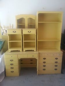 1970s Ethan Allen Yellow Girls Bedroom Set Google Search Girls Bedroom Sets Girls Bedroom Yellow Doors