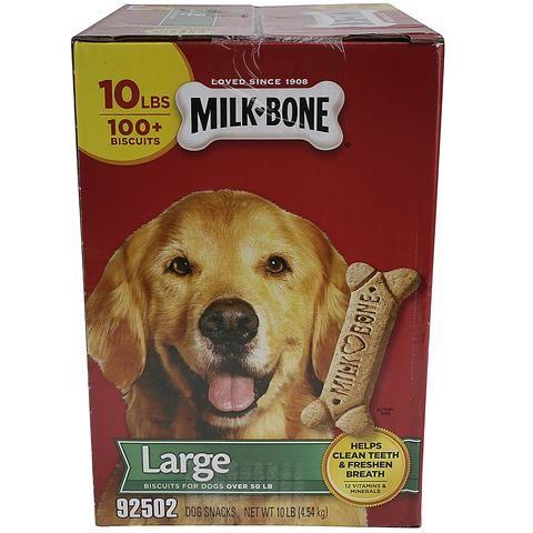 Milk Bone Large Dog Treats 10 Lb Dog Treats Dog Treats Dog