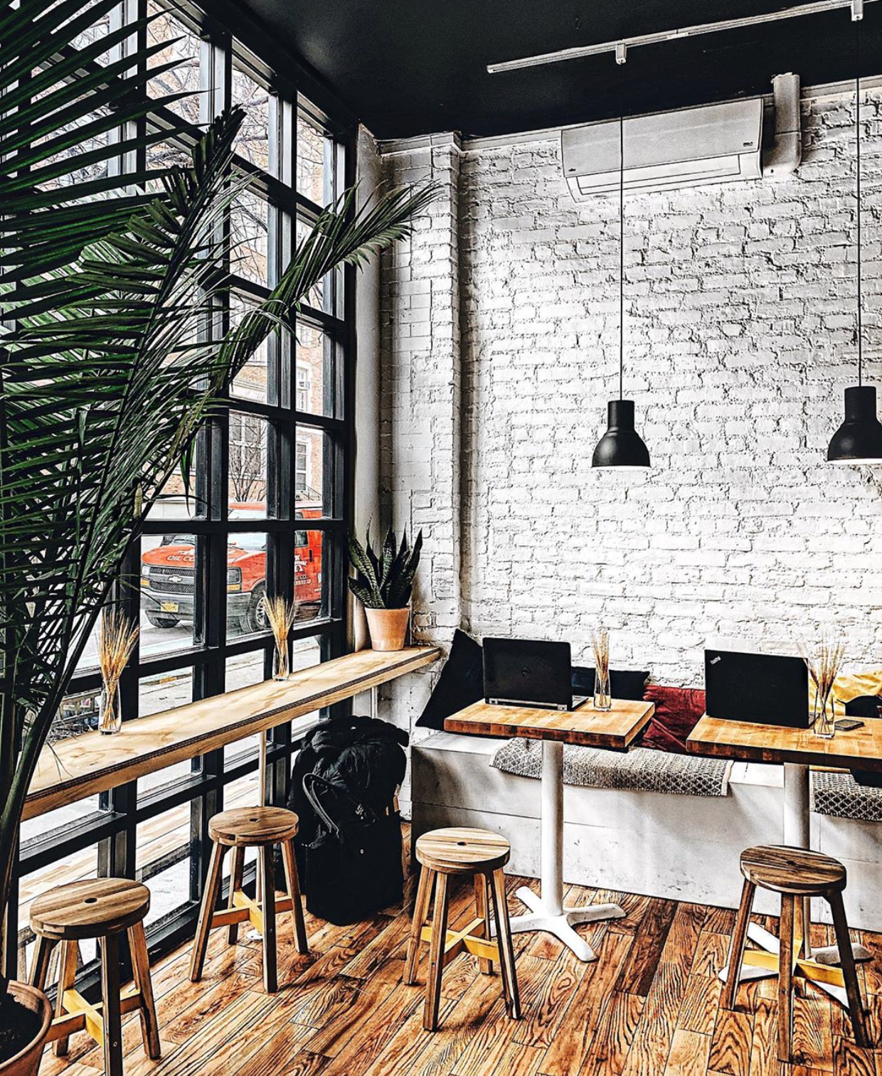 Coffee house interior