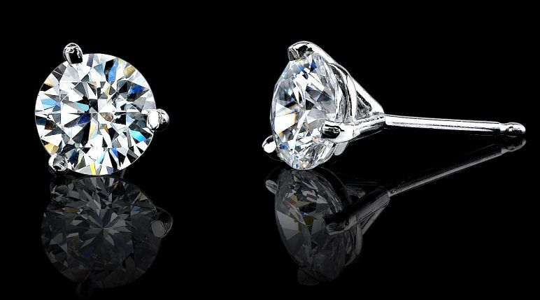Lovely Fake Diamond Earrings That Look Real Check More At Http