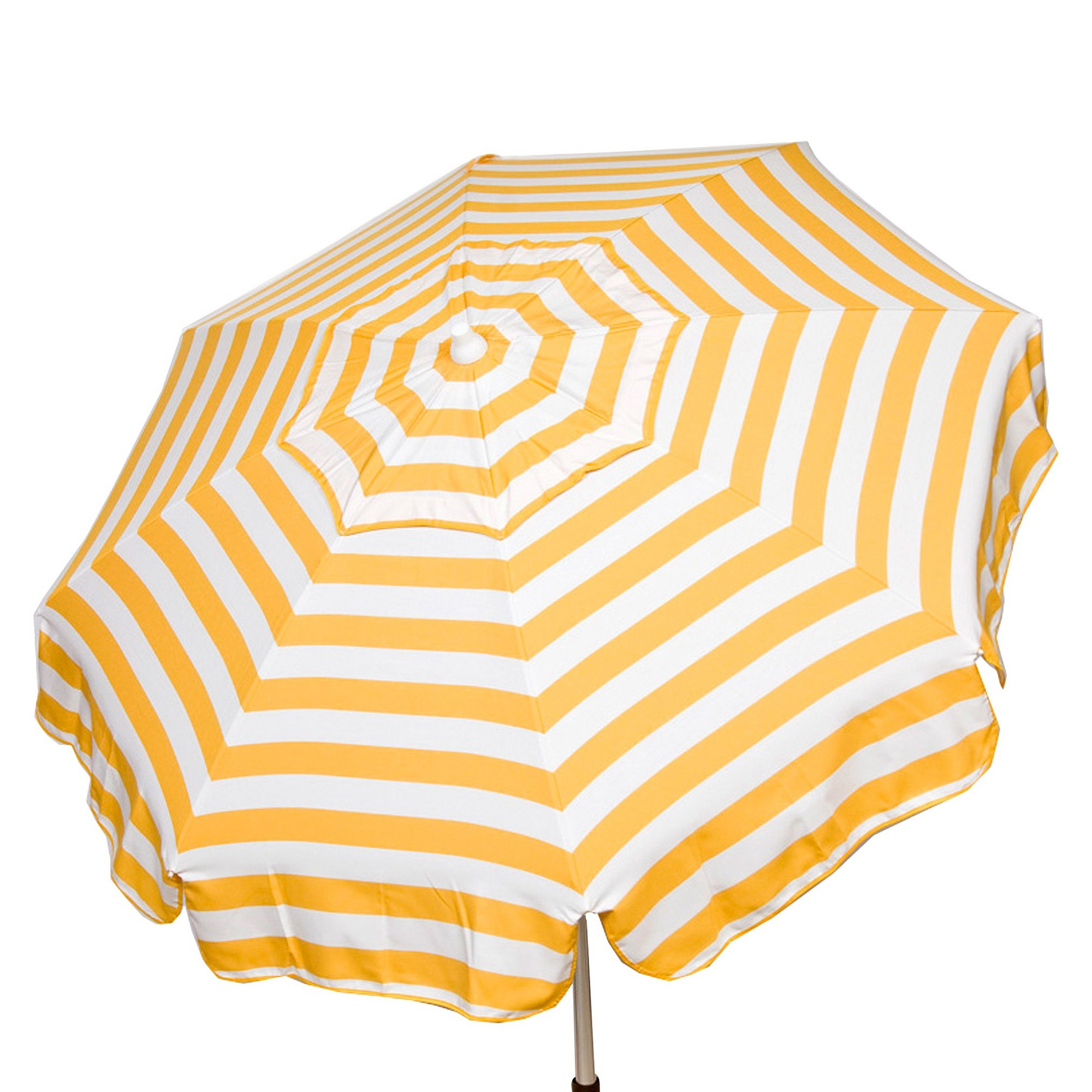 Parasol 6' Italian Aluminum Collar Tilt Beach Umbrella