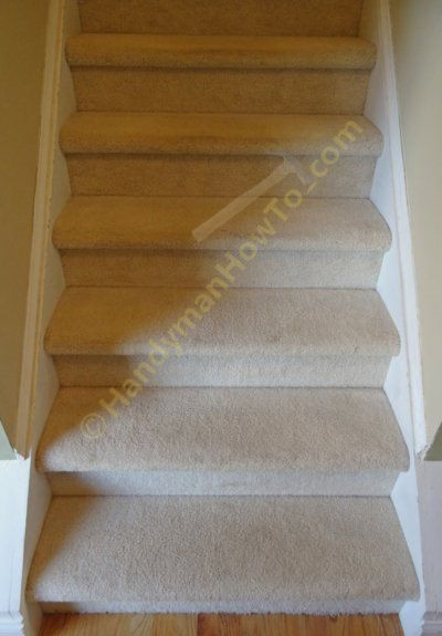 Best How To Remodel Carpeted Stairs With Wood Retrotreads 400 x 300