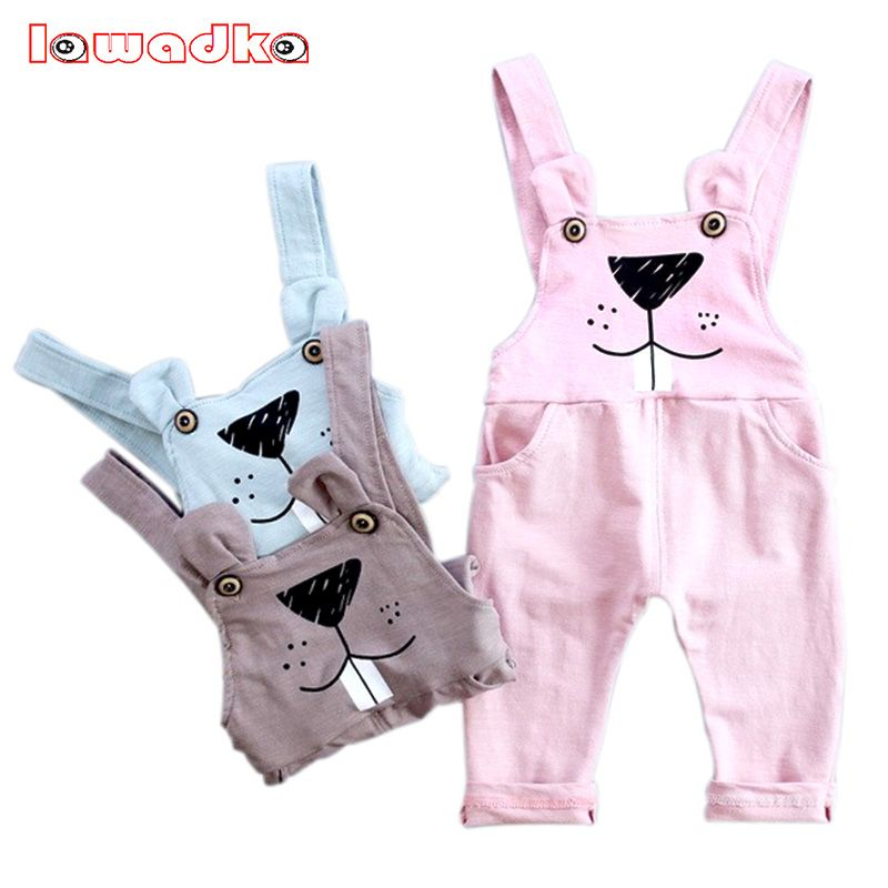 8331f148c New Cartoon Kid Overalls Cotton Cat Pattern Jumpsuit Pants For Baby ...