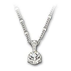Swarovski Solitaire Pendant ❤ A beautiful pendant for your wedding day £69