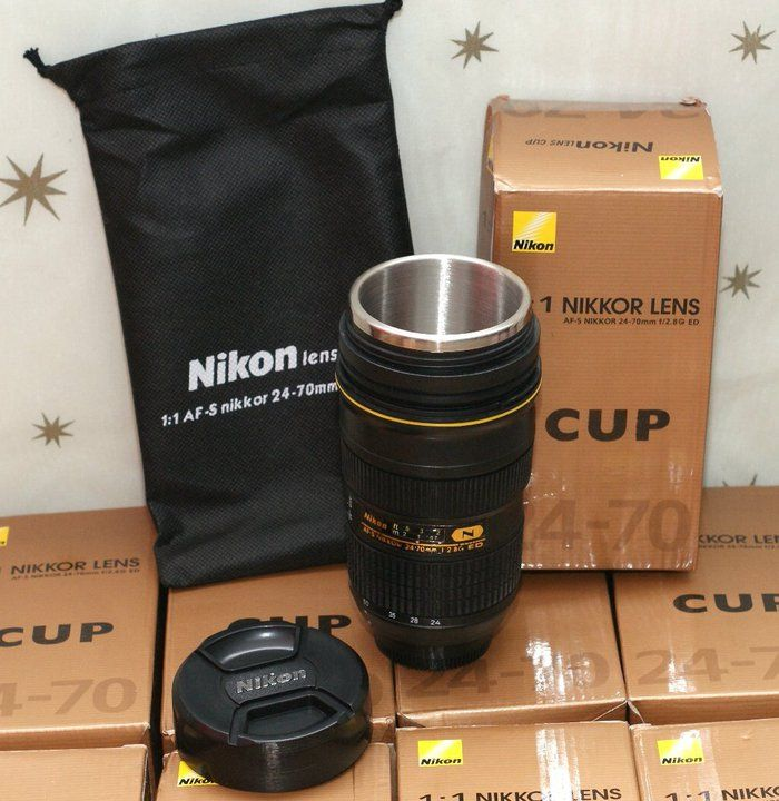 Nikon Lens Coffee Mug Combines Two Of My Favorite Things Oh My - Nikon coffee cup lens