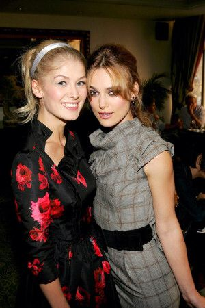 rosamund pike and Keira knightley
