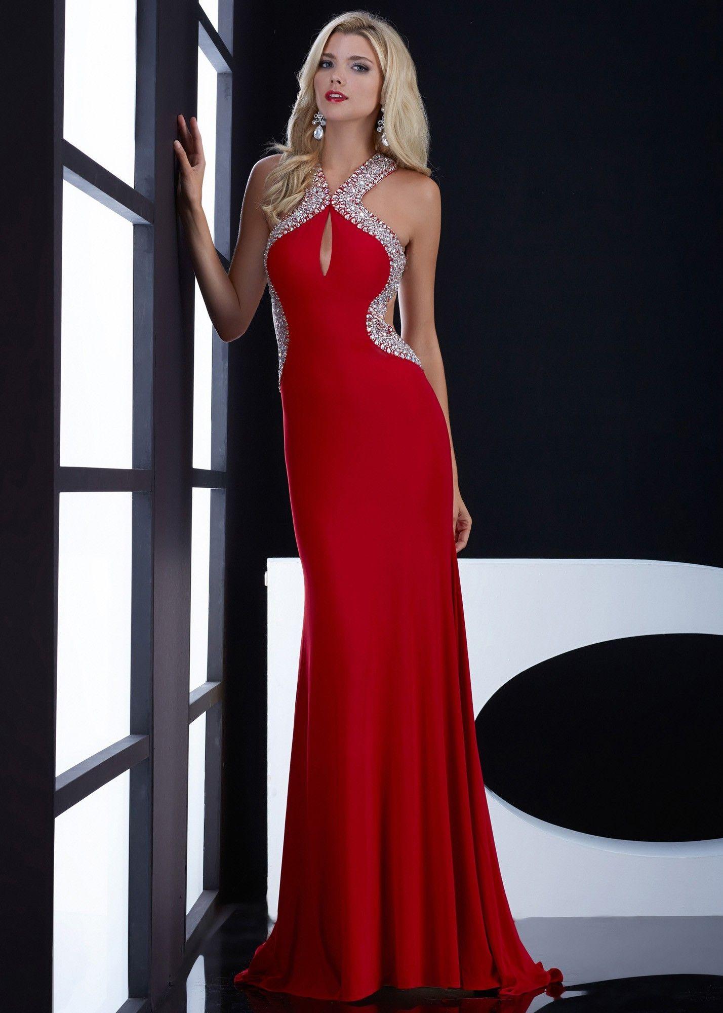 Jasz couture beaded jersey dress blogoncewedding