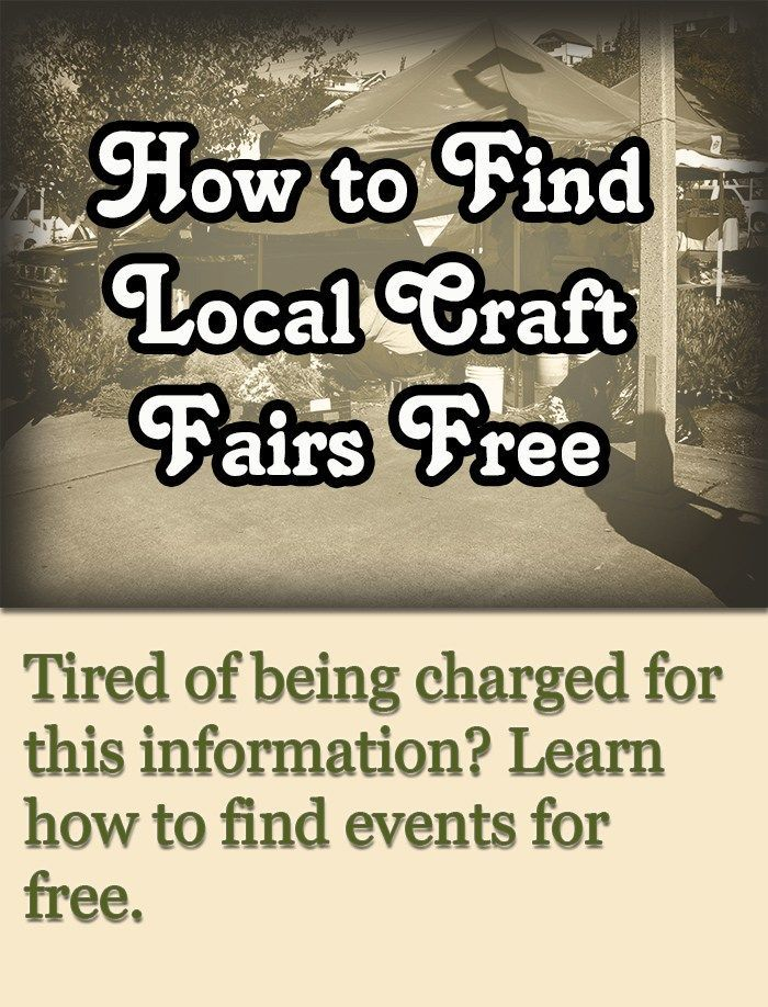 How to Find Local Craft Fairs Free craftfairs