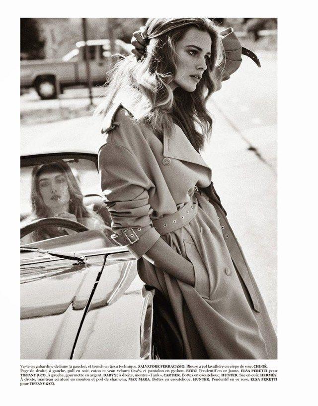 Andreea Diaconu Edita Vilkeviciute By Mikael Jansson Editorial Fashion Fashion Photography Vogue Paris