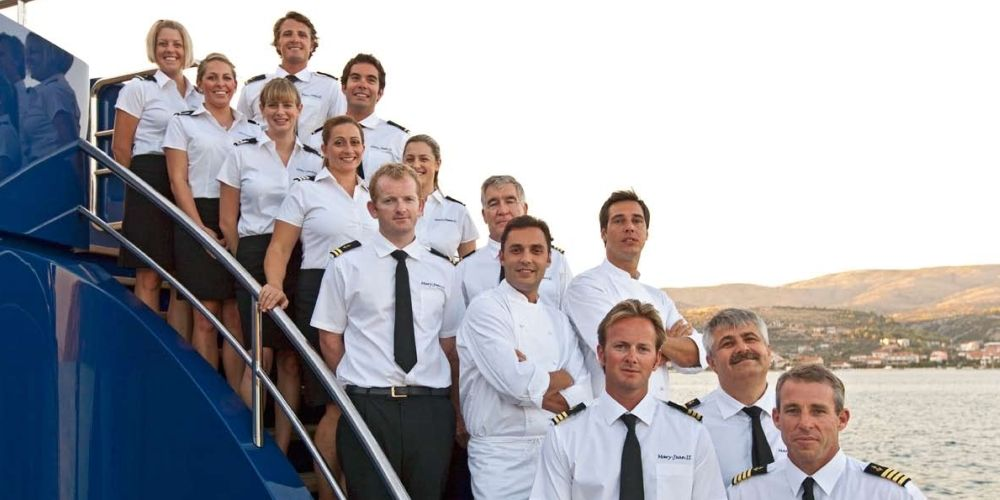 Below Deck' on Honor Yacht - New Bravo Superyacht Crew Reality ...