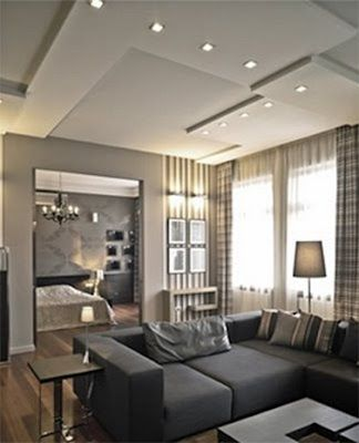desain plafon  gypsum minimalis  interior Pinterest