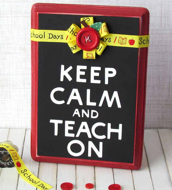 I could make this into a clipboard, so cute!