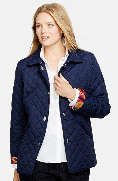 ralph lauren quilted jacket womens