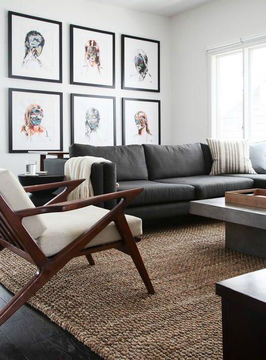 6 Interior Living Room Modern Blue In 2020 Grey Sofa Living Room Grey Couch Living Room Dark Grey Sofa Living Room