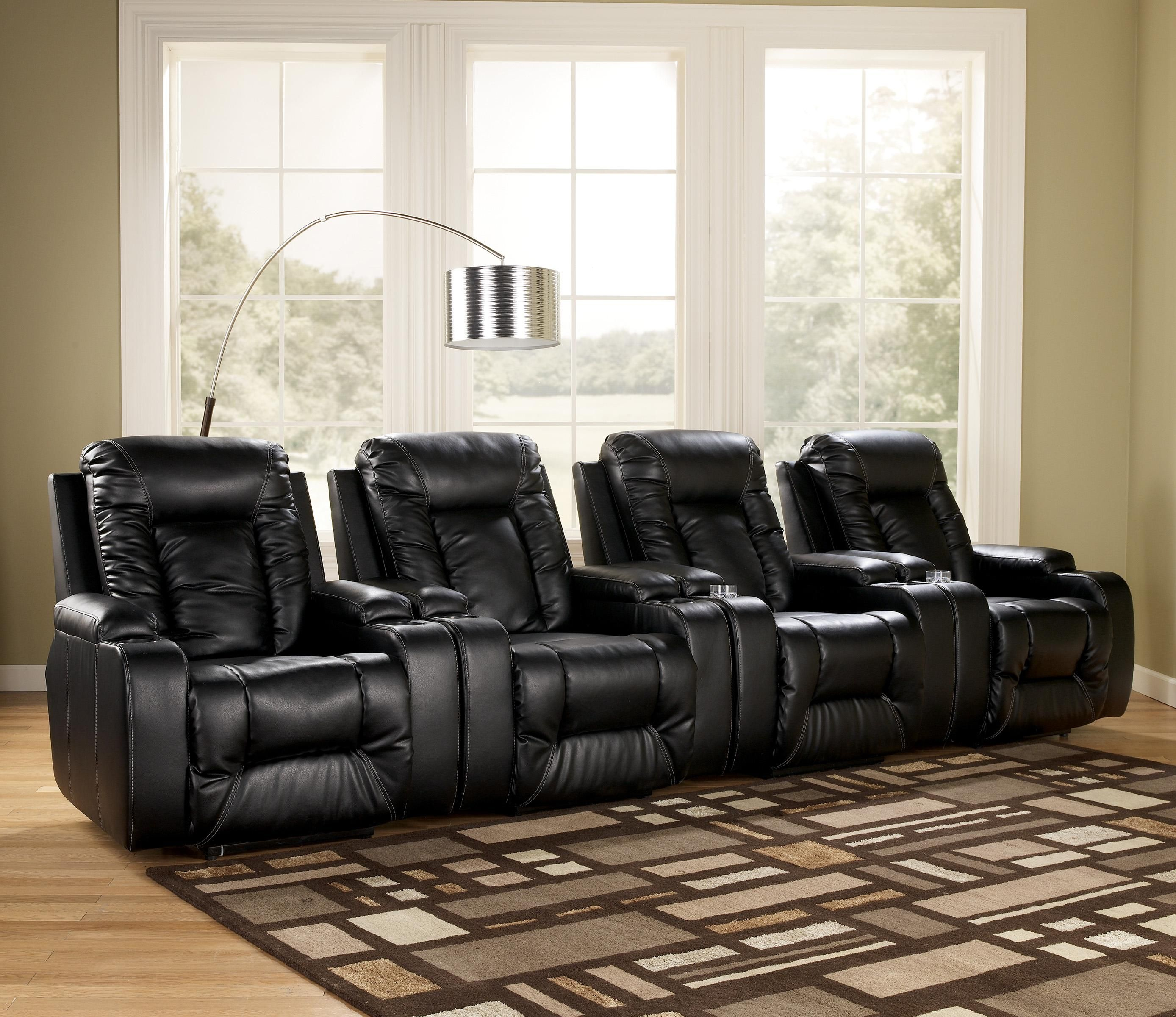 Matinee Durablend 174 Eclipse 4 Piece Theater Seating Group
