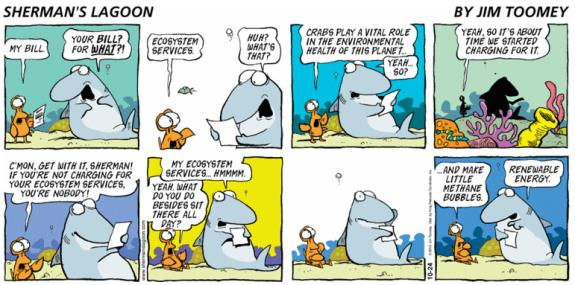 Ecosystem services cartoon Ecosystems, Fun comics, Cartoon