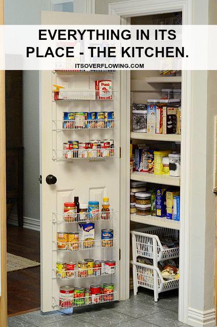 Kitchen Organization Ideas   LOVE IT!   Pinterest   Küchen ideen ...