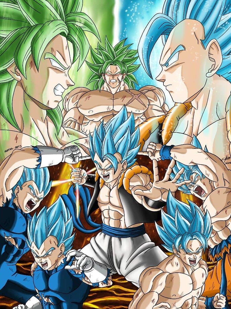 Imagem De Anime Dbs Por Son Goku Dragon Ball Gt Dragon Ball Dragon