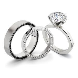 milano designer mens womens platinum wedding rings my ideal wedding - Platinum Wedding Rings For Women