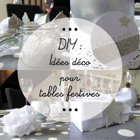Des idées déco de table pour les fêtes | Pinterest