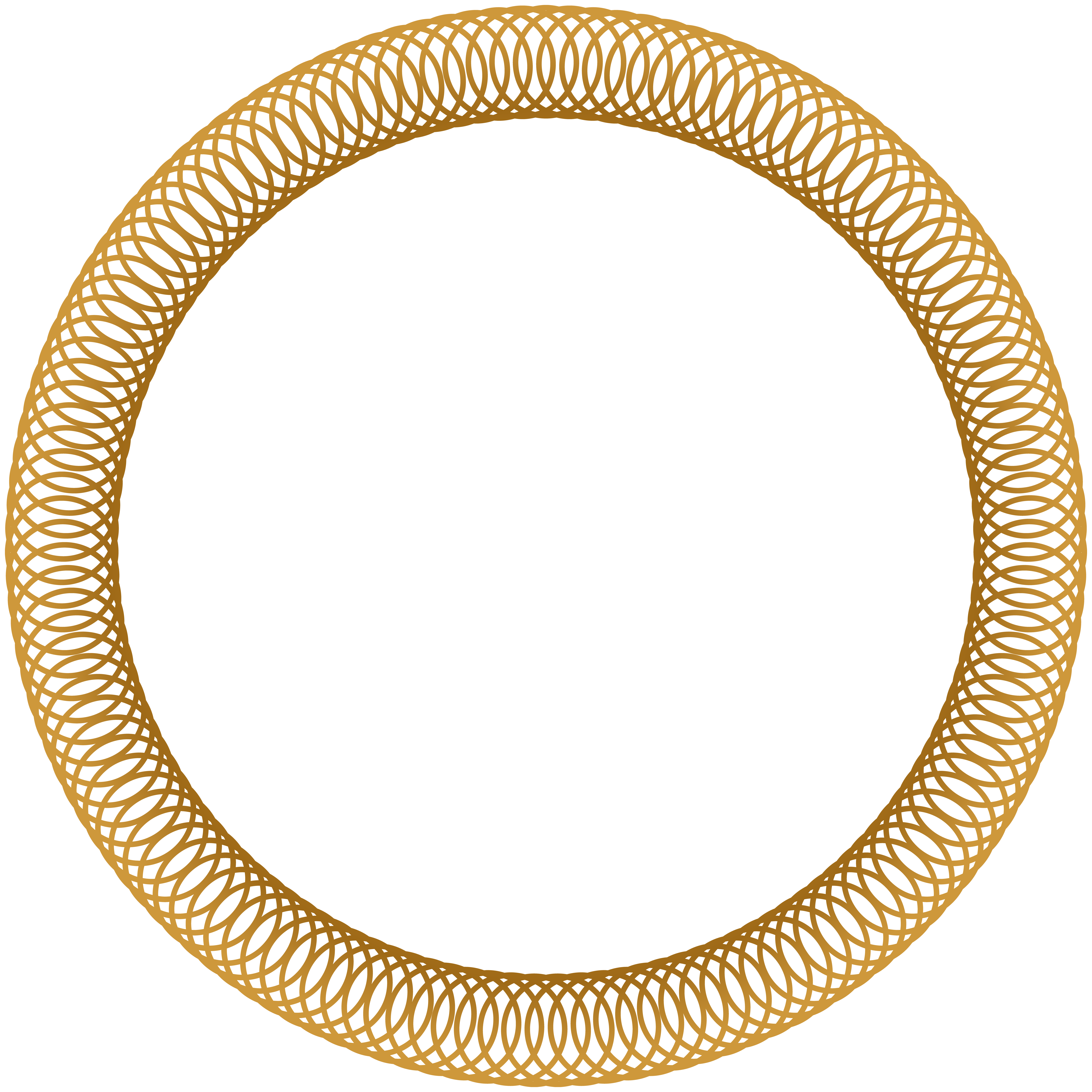 Round Frame Deco Clip Art Png Image Gallery Yopriceville High Quality Images And Transparent Png Free Clip Gold Circle Frames Frame Border Design Clip Art