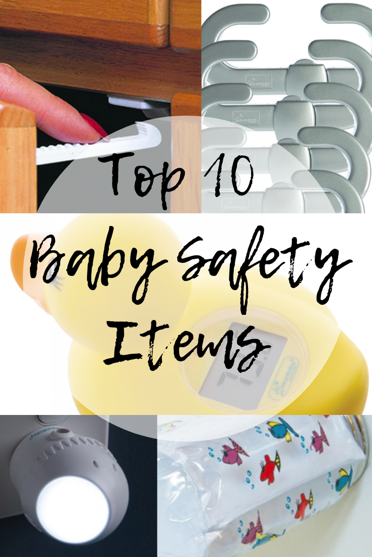 Top 10 Baby Safety Items (& Giveaway Ends 9/30 Baby