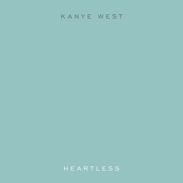 Kanye West – Heartless (single cover art)