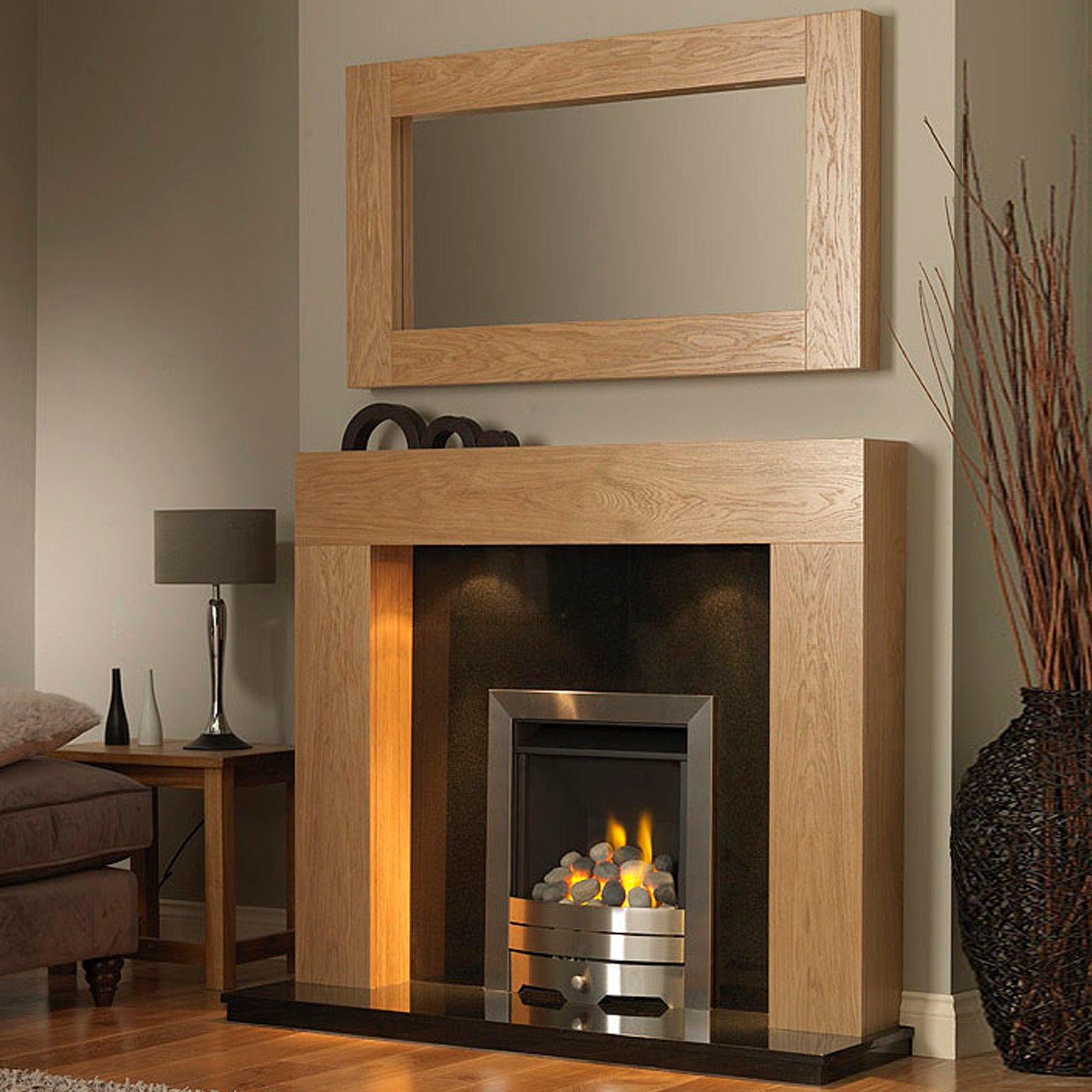Mantels and Modern fireplaces