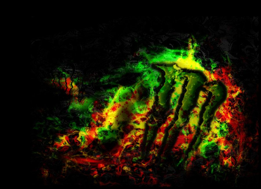 Rasta Monster Energy By Sgzombie By Sgzombie On Deviantart Monster Energy Monster Energy Drink Monster Energy Drink Logo