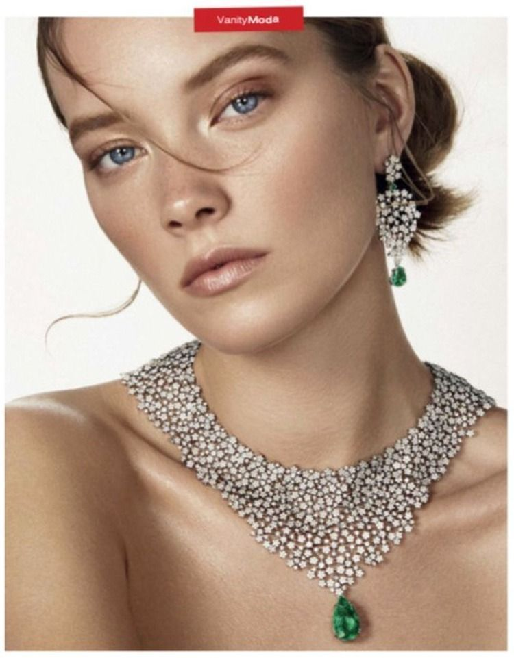 Photo of Pearl Jewelry Diy Fine Jewelry Editorial: Mildred Gustafsson by Mario Gomez for …