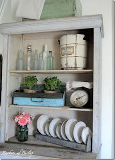 nice - trying some DYI shabby
