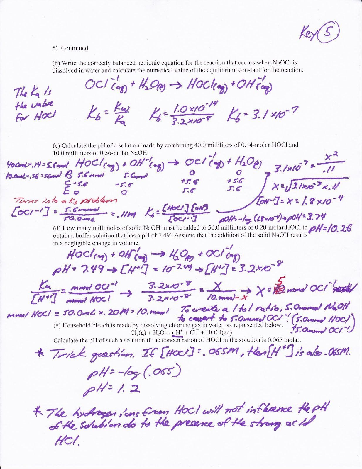 Polyatomic Ions Worksheet Answers Introduction Acids Bases ...
