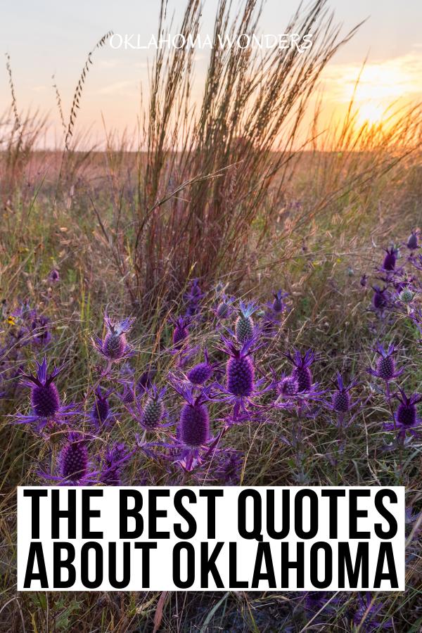 50 Inspirational Quotes about Oklahoma & Oklahoma ...