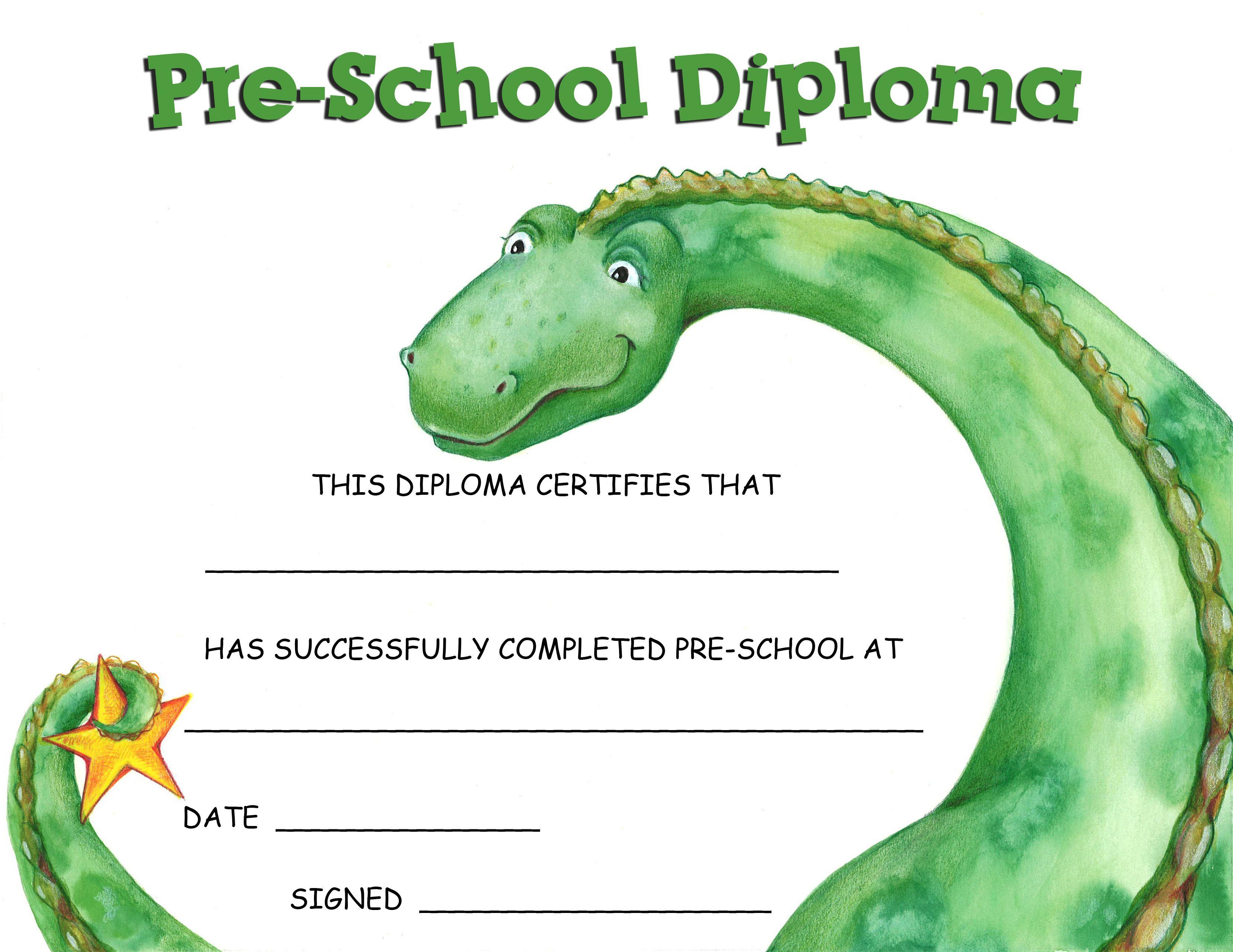 Preschool Certificate Templates