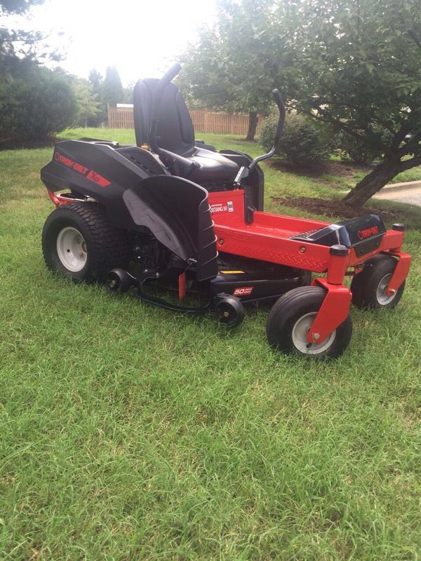 Troy Bilt Xp Mustang 42 Xp 22 Hp V Twin Dual Hydrostatic 42 In Zero Turn Lawn Mower With Mulching Capability Brand New For Sale In Dayton Oh Offerup Zero Turn Lawn Mowers Mulching Lawn