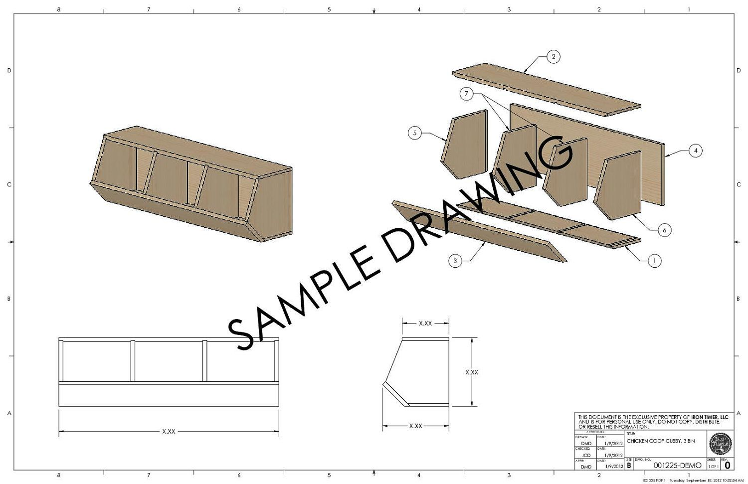 Woodworking Plans. $10