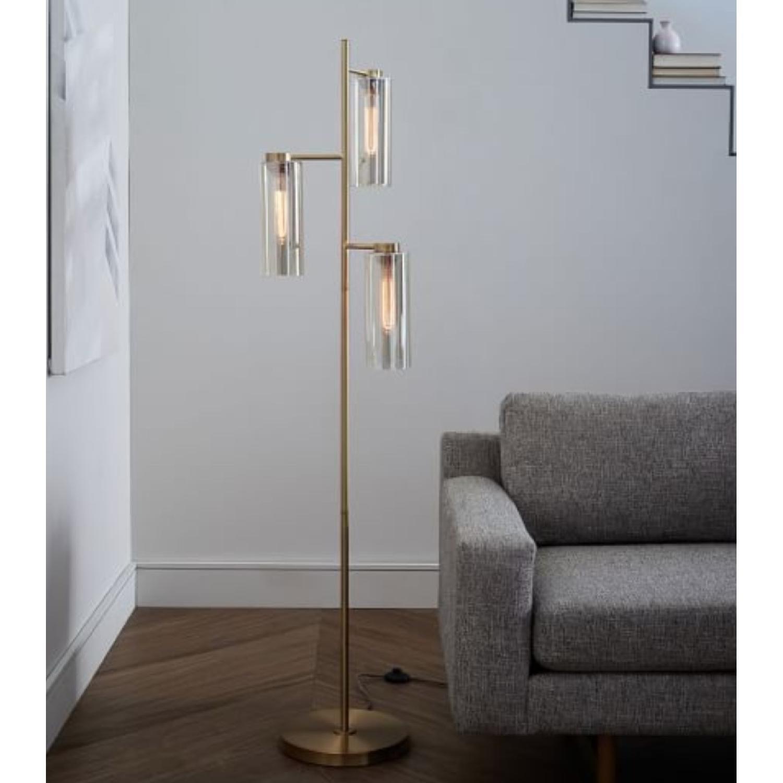 West elm glass cylinder floor lamp 3 tablefloor lamps buy second hand floor lamps at up to off aloadofball Gallery