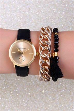 Bayan Saat Ve Bileklik Set Cls5arm209601 Bayan Saatleri Bileklik Moda Taki