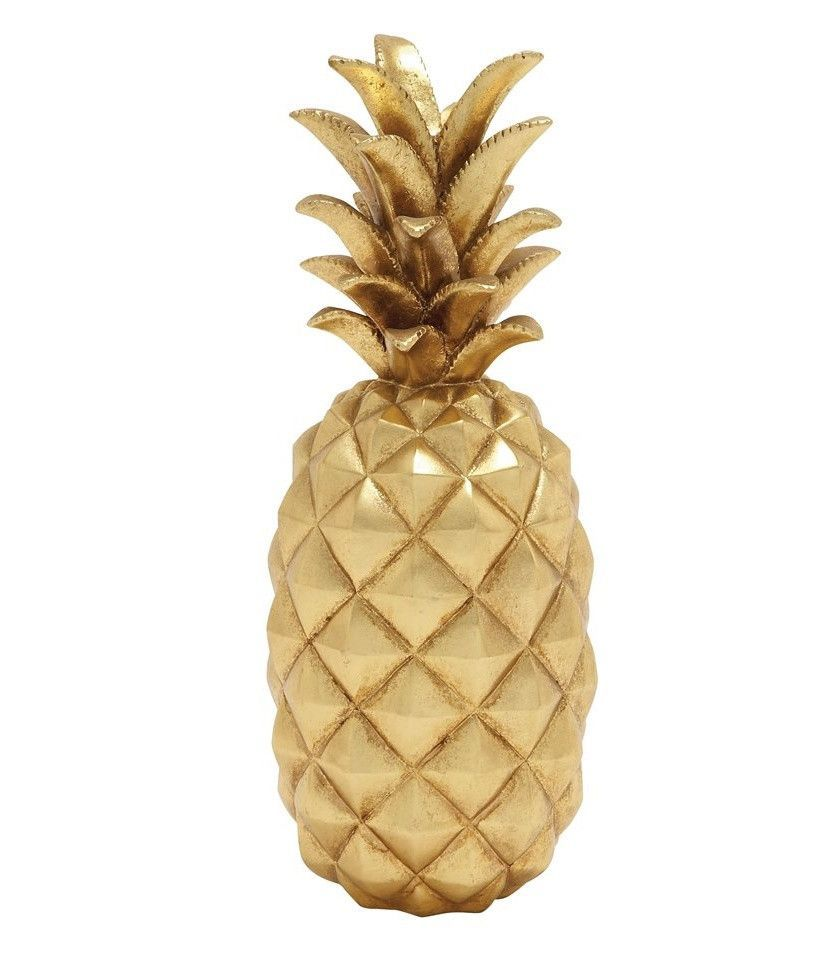 Our Gold Decorative Pineapple Brings A Sophisticated Touch