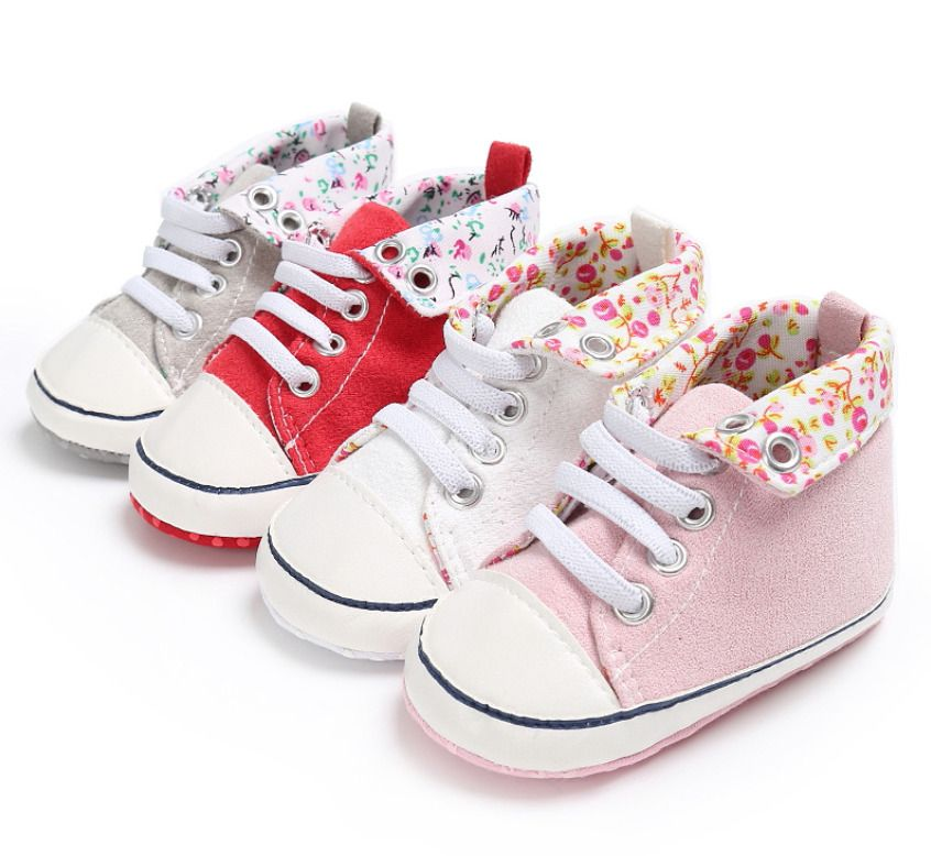 Crib shoes girl, Baby shoes