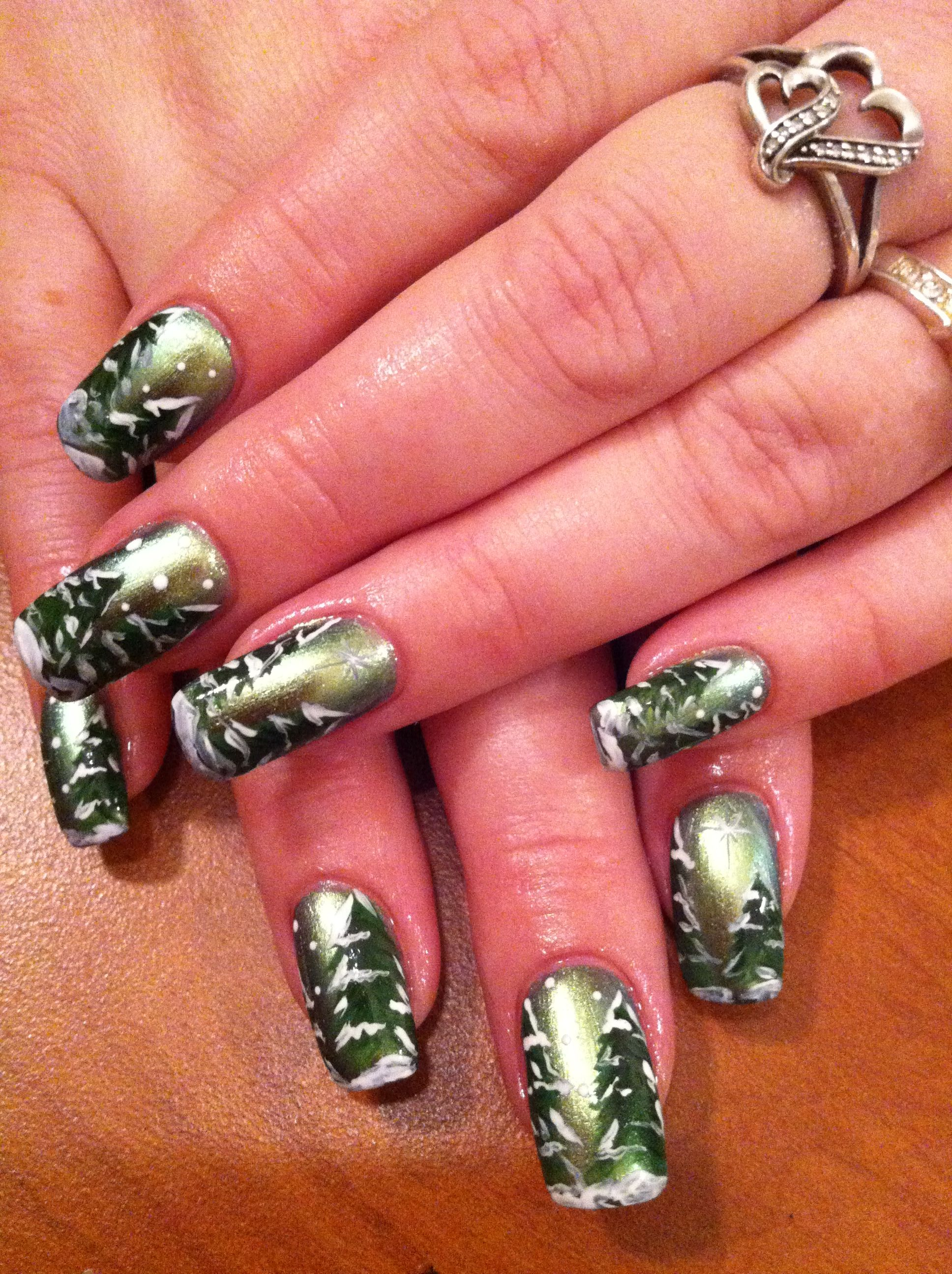 Winter nails | Nails by Colleen | Pinterest | Winter nails, Winter ...