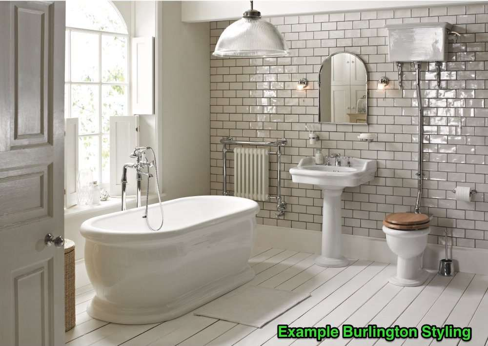 Traditional Burlington Bathrooms