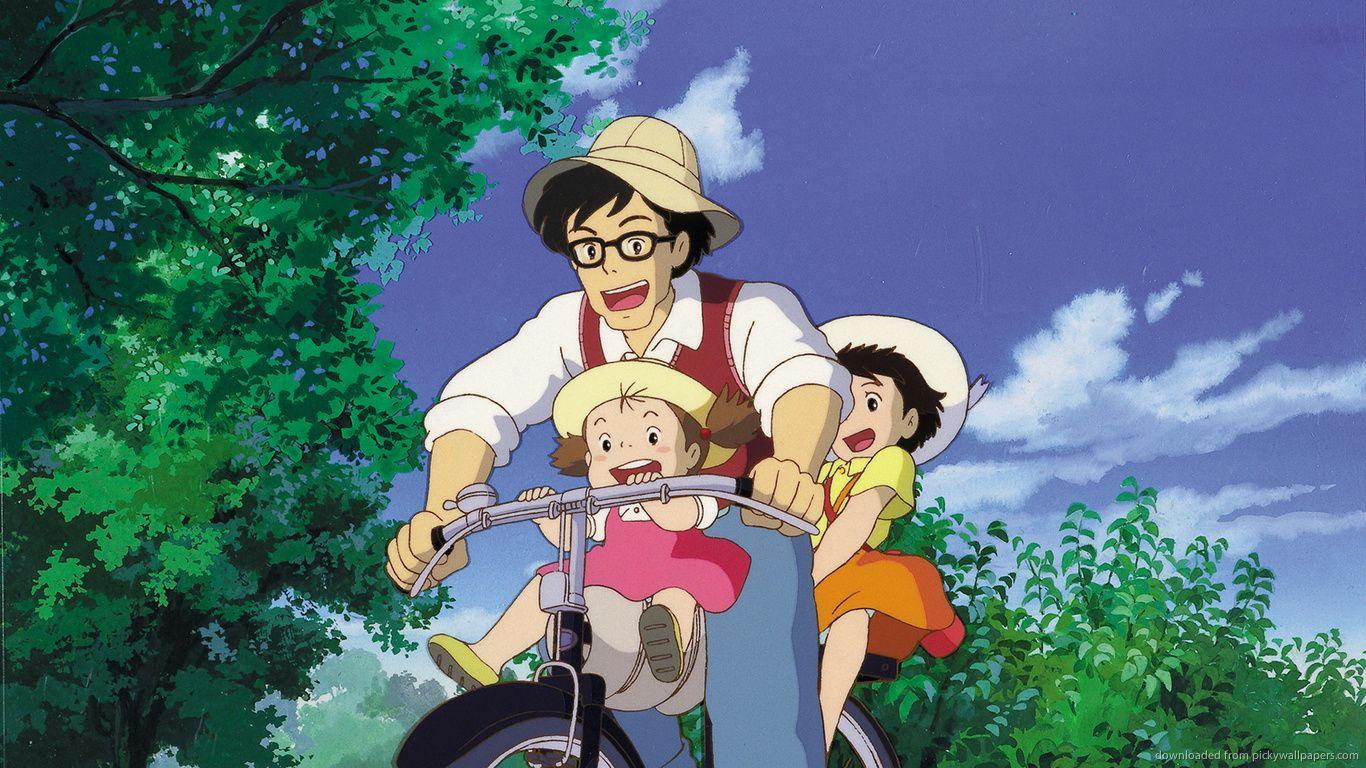 My neighbor Totoro Download 1366x768 My Neighbor Totoro