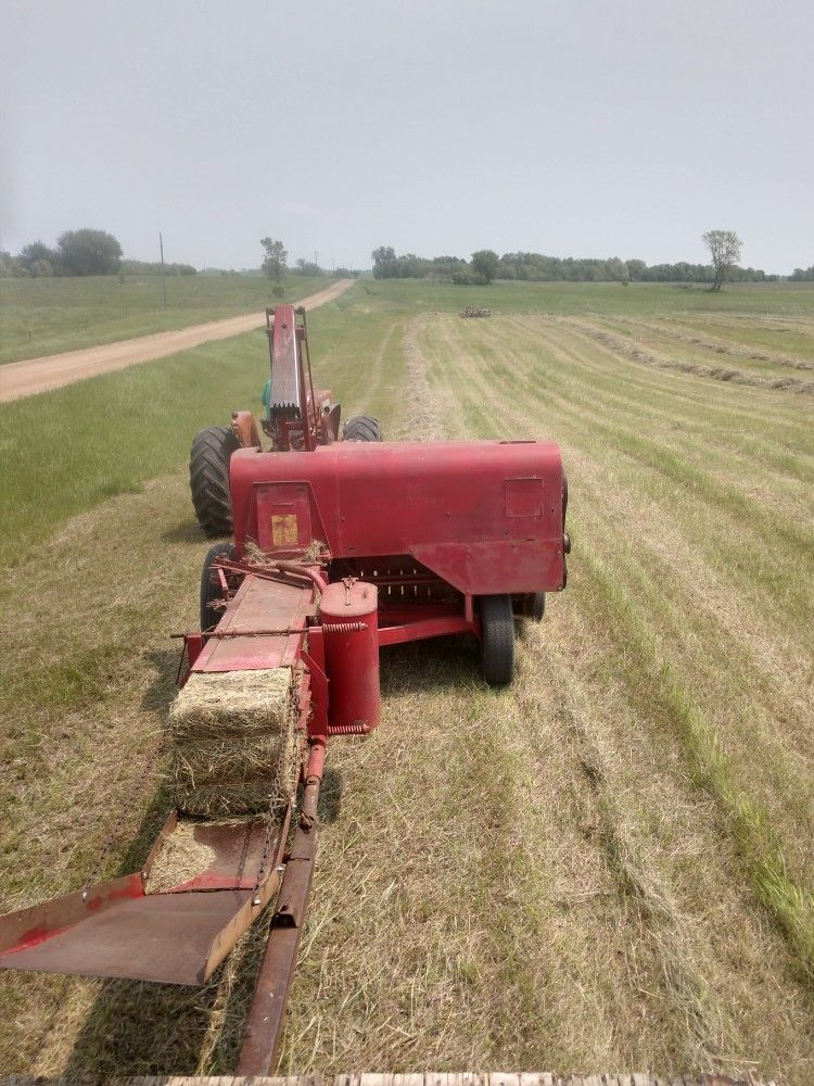 Pin By Dan Bowen On Super 77 Baler Farm Equipment Farm Tractor