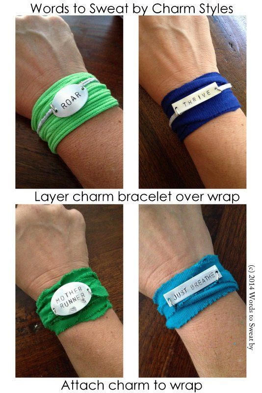 It S A Wrap Mantra Workout Bracelet That Is Now