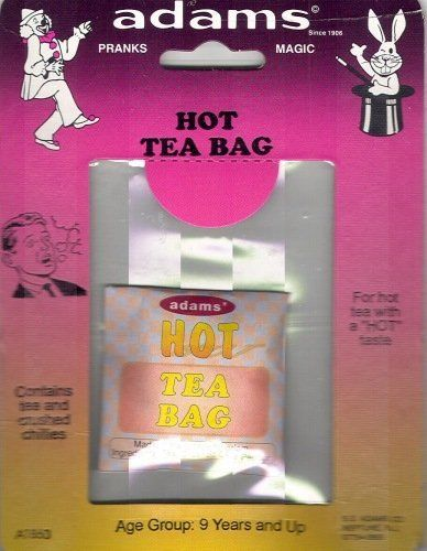 SS Adams Hot Tea Bag - Prank Tea with Crushed Chillies by