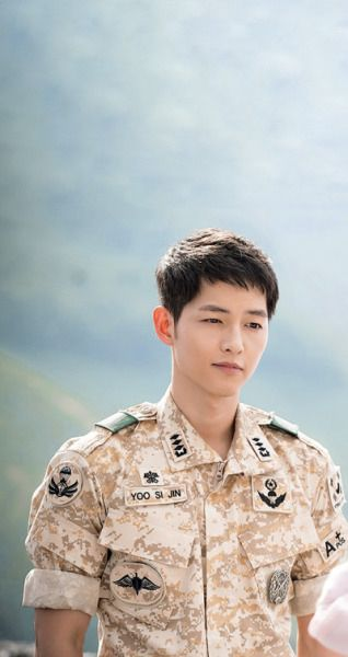 Song Joong Ki In Descendants Of The Sun Wallpapers Or Lockscreens