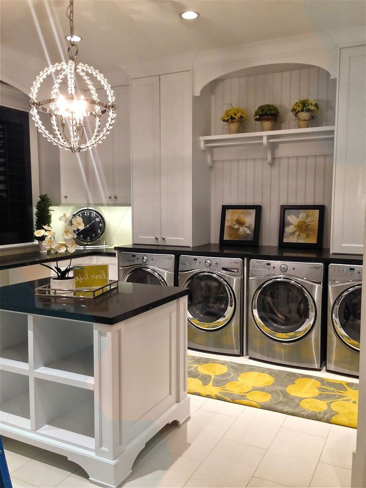 for the home pretty decor laundry room layouts room on laundry room wall covering ideas id=54420