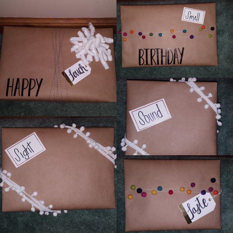 5 Senses Gift 5 Sense Gift Birthday Presents For Her Birthday Gifts For Best Friend